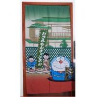 Cheap Door Decor Cute Doraemon Robo Cat Linen Door Curtain D2902 for sale