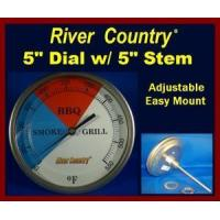 Cheap 5 River Country Adjustable BBQ, Smoker Thermometer (RC-T55) (5 Stem) for sale