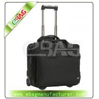 China Wheel bag Rolling wheeled expandable laptop brief on sale