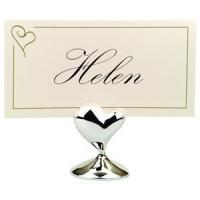 Buy cheap Place Card Holders - Contemporary Heart from wholesalers