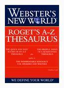 Buy cheap Webster's New World Roget's A-Z Thesaurus from wholesalers