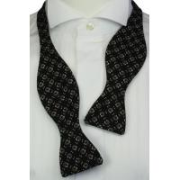 Cheap Self-Tie Horseshoes Black Bow Tie for sale