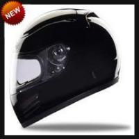 China D.O.T Helmets Race/DOT Full Face Black Motorcycle Helmet on sale