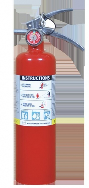China ABC Dry Chemical Fire Extinguisher 2.5 LBS