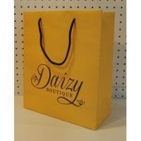 China Cardboard paper bag rope handle -daizy on sale