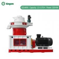 Buy cheap Peanut Shell Pellet Making Machine Price from wholesalers