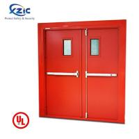 Buy cheap 2 Hours UL Listed Fire Rated Double Leaf Steel Door with Vision Panel from wholesalers