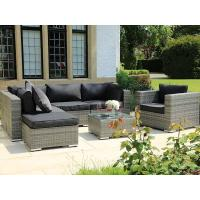 Buy cheap Wholesale good quality backyard garden PE wicker dining sets from wholesalers