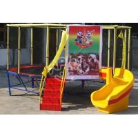 Cheap Outdoor Playground Trampoline for children for sale
