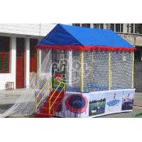 Cheap Outdoor Playground Rectangle trampoline for sale