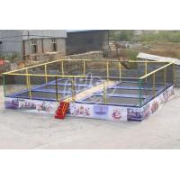 Cheap Outdoor Playground Kids square trampoline for sale