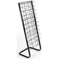 Cheap 10-Tiered Wire Literature Stand for Floor DSN12293 for sale