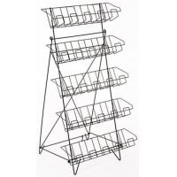 Cheap 5-Tiered Wire Literature Floor Stand DSN12288 for sale