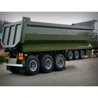 Buy cheap U mode 3 Axle Dump Truck Trailer from wholesalers