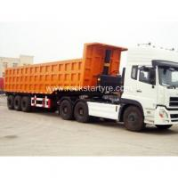 Buy cheap 40 Cubic Meter Dump Trailer Truck Dumper from wholesalers