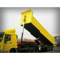 Buy cheap 50 TONS Semi Tipper Trailer Dump Truck from wholesalers