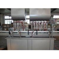 Buy cheap Automated Piston Filling Machines And Equipment , Bottle Filling Plant for Meat Paste from wholesalers