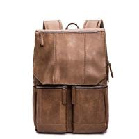 Buy cheap Waterproof school USB pu leather backpack from wholesalers