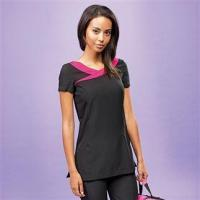 Buy cheap Aprons & service PR691: Ivy beauty and spa tunic contrast neckline from wholesalers