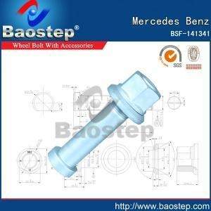Quality Cold Forged Mercedes Benz Wheel Nuts and Bolts wholesale