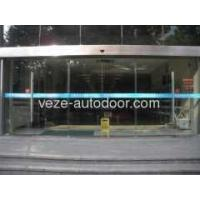 Cheap Framless glass doors with aluminum profile for sale