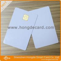 Cheap Contact IC Card FM4442 blank white card for sale