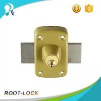 China 0548 High security sliding button card rim lock on sale