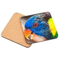 China Blank Sublimation Cork Coaster DIY Customized MDF Placemat board For Photo Printing on sale