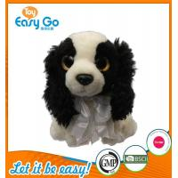 Cheap Customized OEM promotion gift plush dog with tie for sale
