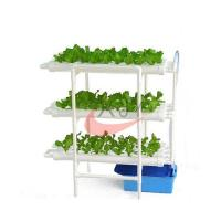 Buy cheap 108 Holes Double Side PVC Pipe Indoor NFT Hydroponic Systems from wholesalers