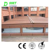 China Adjustable External Automatic Motorized Opening Aluminium Louvers Roof for Sales on sale