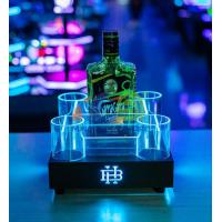 Cheap Spirit LED Ice Bucket with Energy Drinks Tray for sale
