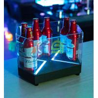 Cheap Hexagon Shape Beer LED Ice Bucket for sale