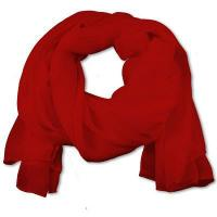 Cheap SS-01 | Women's Red Chiffon Scarf for sale
