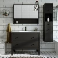 Cheap Modern Bathroom Sink With Cabinet for sale