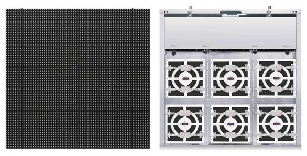 China P8 LED Display Screen with Aluminum Cabinet