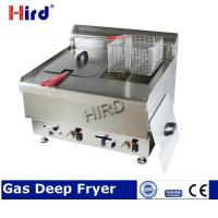 Buy cheap Gas Deep Fryer Stainless steel fryer table top model for Twi from wholesalers