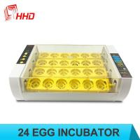 Buy cheap HHD 98% Hatching rate Factory price Full automatic 24 chicken egg incubator from wholesalers