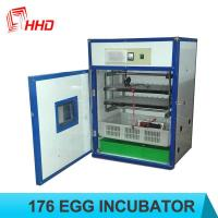 Cheap Holding 176 Eggs automatic HHD chicken incubator for sale with CE approved YZITE-4 for sale