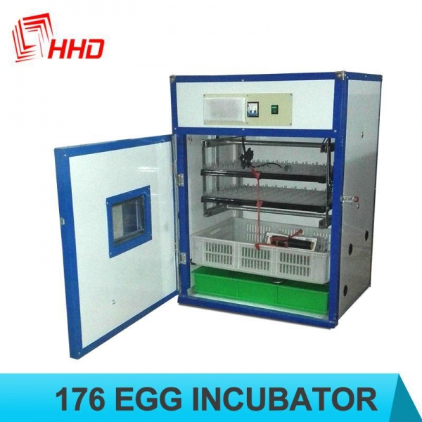China Holding 176 Eggs automatic HHD chicken incubator for sale with CE approved YZITE-4