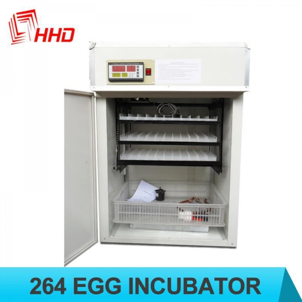 China HHD brand 264 Eggs automatic chicken incubator for sale with CE approved YZITE-5