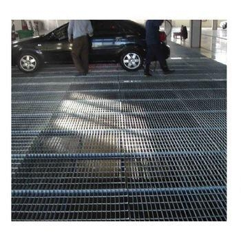 China Platform walkway 25*5 Open grid steel grating fabricated grate