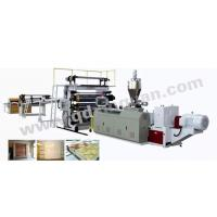 Buy cheap PVC Artificial marble/imitation stone board Production Line from wholesalers