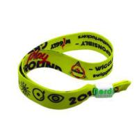 Buy cheap activity tracker woven armband for Auto show event from wholesalers