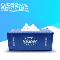 Buy cheap 1:25 COSCO SHIPPING TISSUE CONTAINER | CONTAINER TISSUE BOX from wholesalers