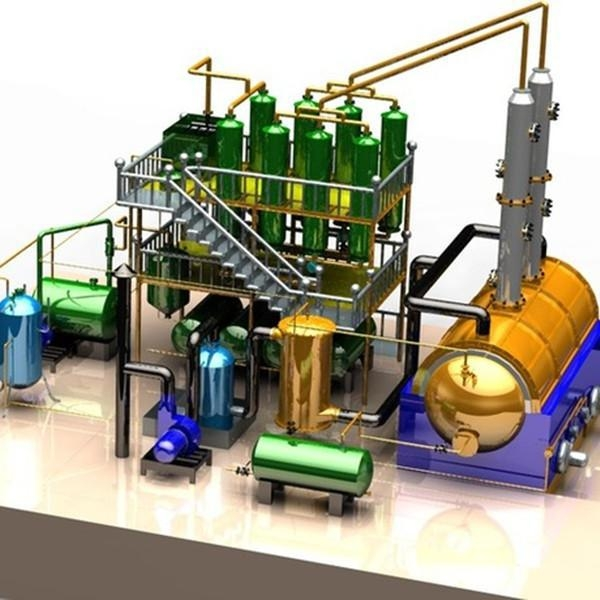 China Waste Oil Distillation Plant