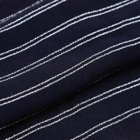 Buy cheap Viscose Polyester Yarn Dyed Stripe Crepe Fabric with Low Minimum from wholesalers