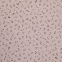 Cheap 100% Modal Leaves Print Twill Fabric for sale