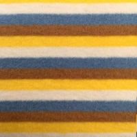 Cheap 1 1 cotton elastic stripes brushed rib for sale