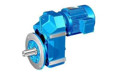 China Parallel Shaft Helical Gearmotor